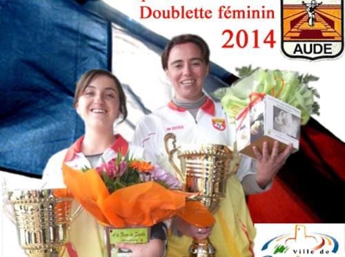 Championnats de France TAT senior et Doublettes Féminines à Gruissan (Aude)