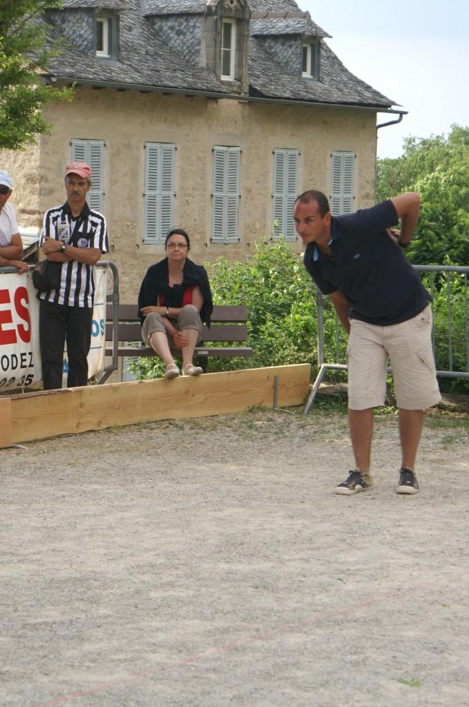 Benoit FABRE (Le But du Monastère) en action cadre d'honneur n°1.