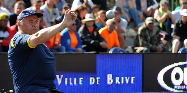 Championnat de France triplettes à Brive