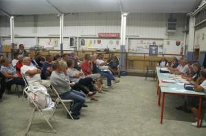 Une quarantaine de personnes ont participé, ce jeudi soir au hall René-Blanc, à l'AG de l'Amicale Pétanque Rodez.