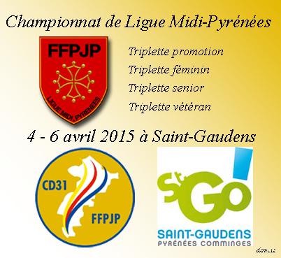 championnat de Ligue  à Saint-Gaudens (31)  : les Aveyronnais(es) en quête d'exploit(s)