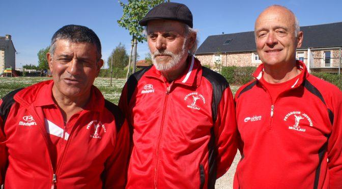 Finale triplettes vétérans à Drulhe  : revanche de la finale 2017 en 1ère partie