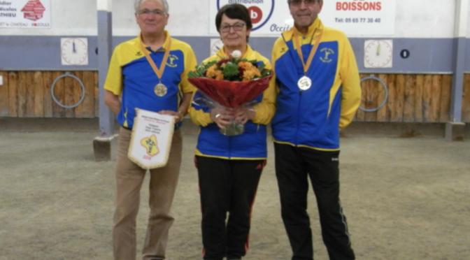 Coupe de l'Aveyron en triplettes mixtes vétérans, ce jeudi à Rodez Saint-Eloi