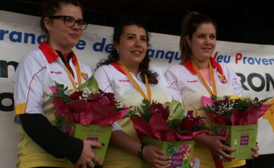 Finale triplettes féminines à Millau : les équipes Bories et Marcilhac sans rivales ?